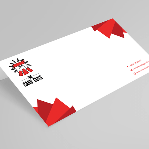 Print business cards flyers stickers and more online kenya the envelope dl size reheart Choice Image