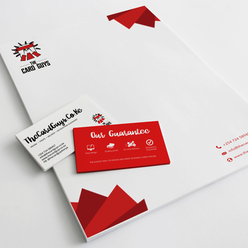 Print business cards flyers stickers and more online kenya the letterheads reheart Choice Image